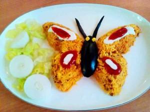 تزیین های خلاقانه و جالب برنج + عکس