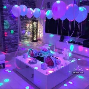 عکس های جالب تزیین خانه برای شب تولد