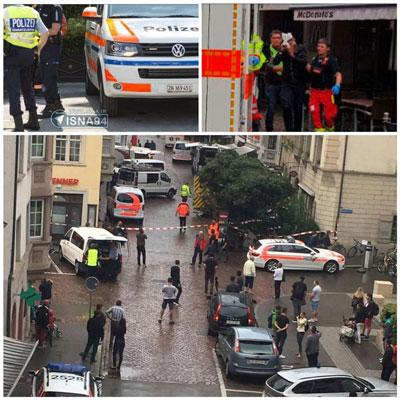 حادثه در در شهر شاف هاوزن سوئیس
