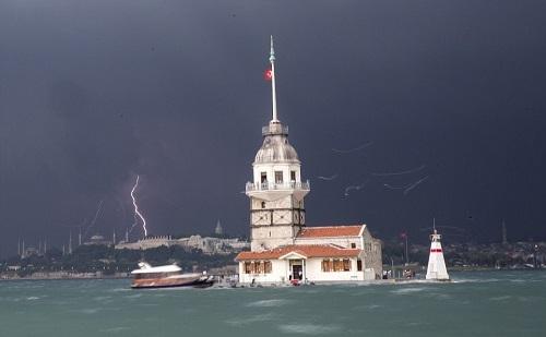 خسارات ناشی از طوفان به مردم استانبول