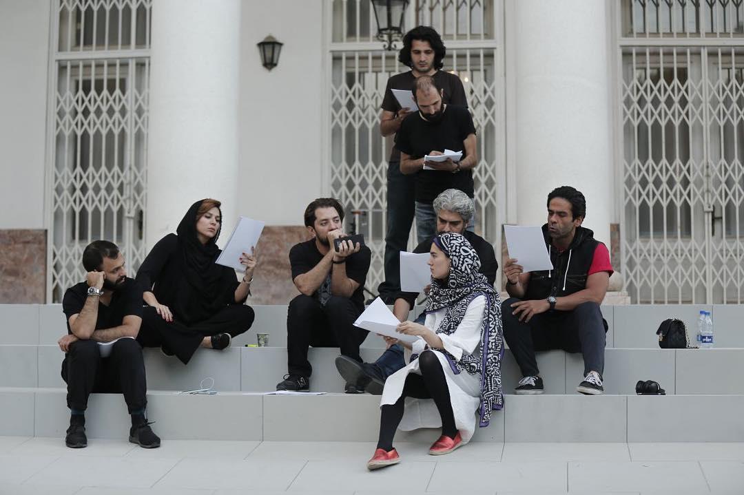 سحر دولتشاهی و بهرام رادان در یک قاب