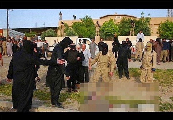 آب پز کردن اسیران داعشی