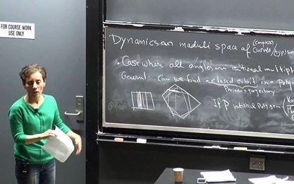 عشق و علاقه مریم میرزاخانی به ریاضی
