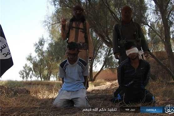 کشتن نیروهای پیشمرگه عراقی توسط داعش