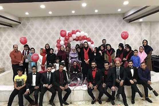 مراسم ازدواج کودک 7 ساله سرطانی