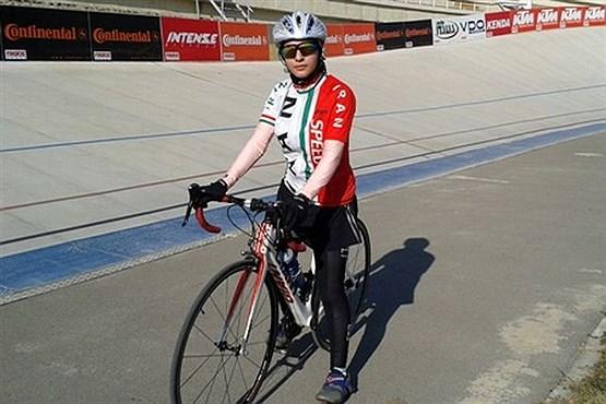 مرگ ناگهانیدختر دوچرخه سوار عضو تیم ملی