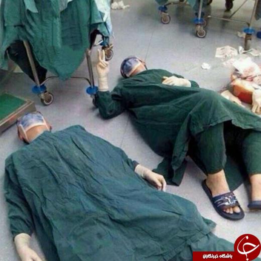 حال و روز جراحان پس از جراحی طولانی مدت
