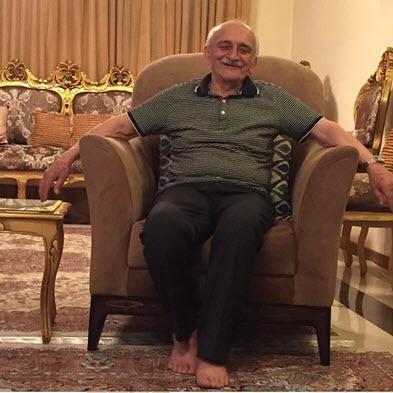 فوت پدر محسن تنابنده
