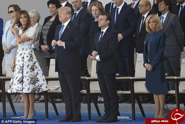 رئیس جمهور فرانسه و آمریکا