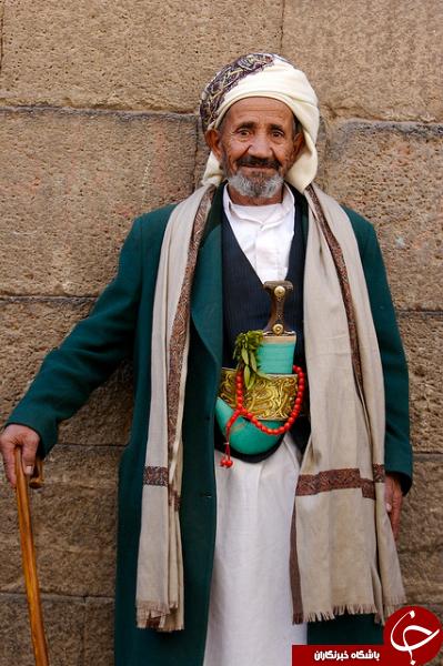 جنجال حضور این پیرمرد یمنی در لیورپول