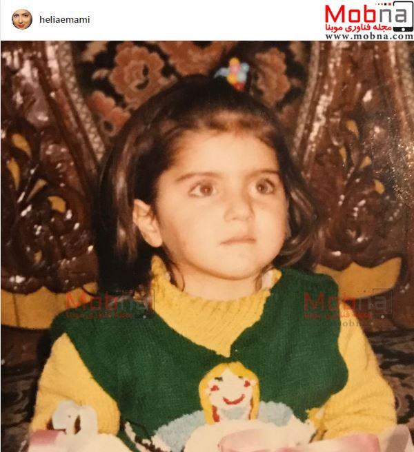عکس دیده نشده از هلیا امامی