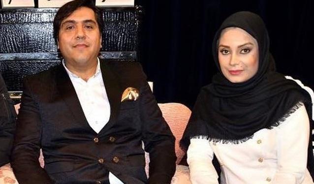 تبریک تولد مانی رهنما توسط همسرش