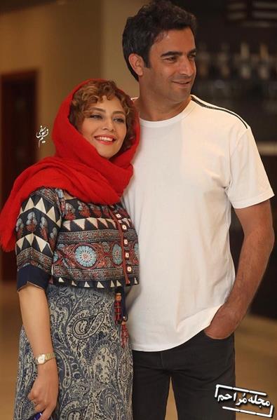 تازه ترین تصاویر منتشرشده از یکتا ناصر و همسرش