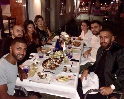 اشکان دژاگه سر میز شام