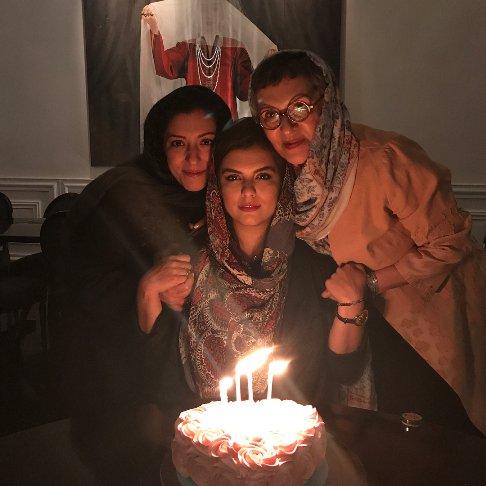 تصاویر جالب از جشن تولد دختر رویا تیموریان