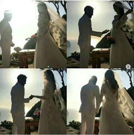 دنی آلوز در روز عروسی
