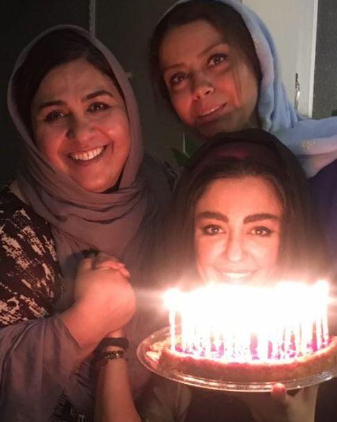 شقایق فراهانی در جشن تولدش