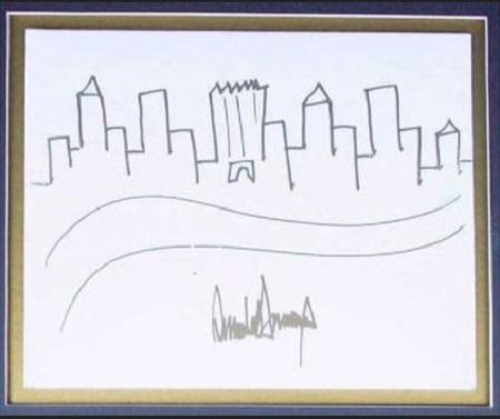 نقاشی ترامپ
