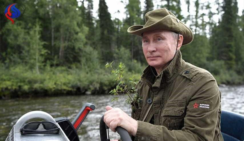علاقه ولادیمیر پوتین به گیاهان