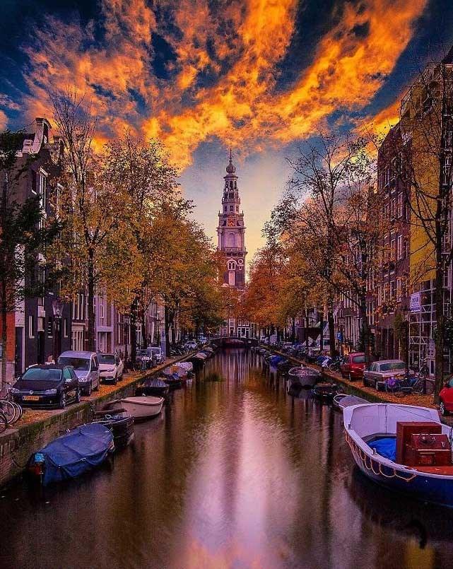 زیبایی های بیشمار شهر آمستردام