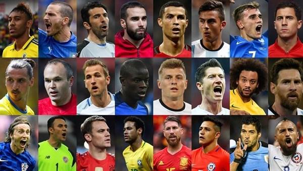 مراسم انتخاب بهترین فوتبالیست جهان