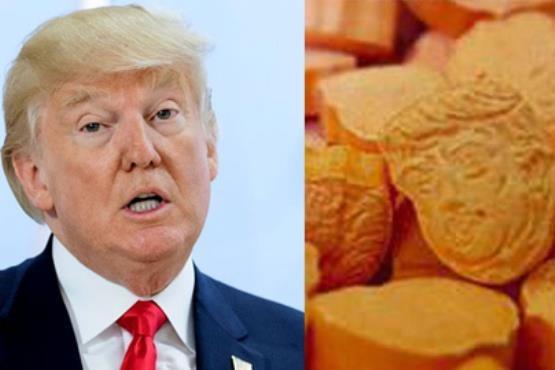داروی مخدر به شکل دونالد ترامپ