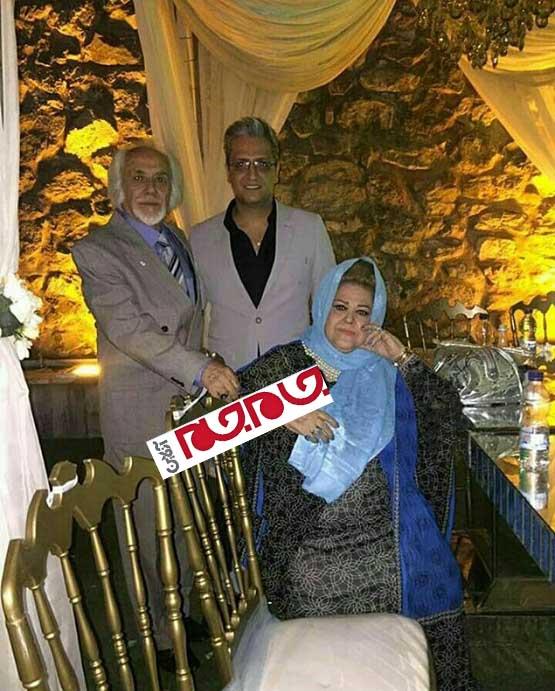 عکس جدید از والدین بهاره رهنما