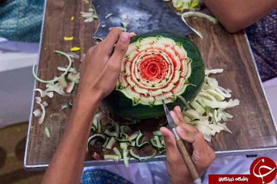 میوه آرایی در تایلند