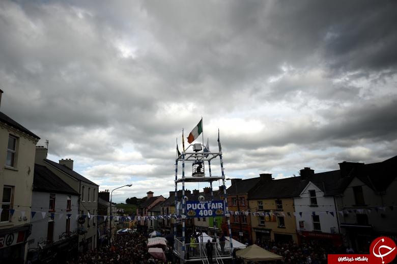 مراسم نمادین تاجگذاری در ایرلند