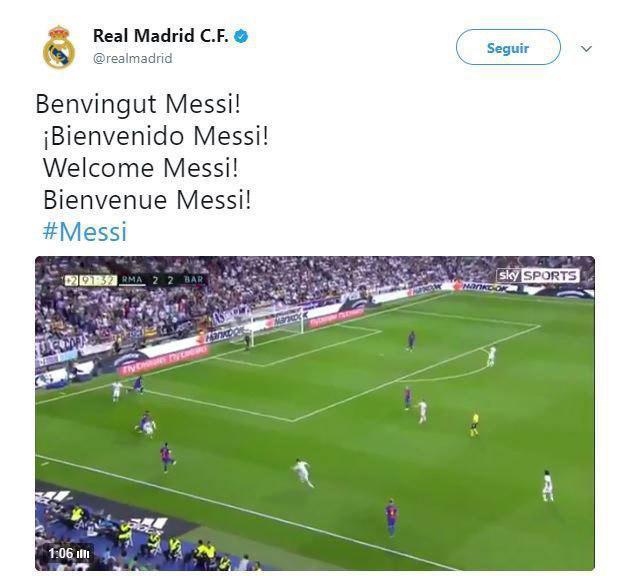 شایعه حضور مسی در رئال مادرید