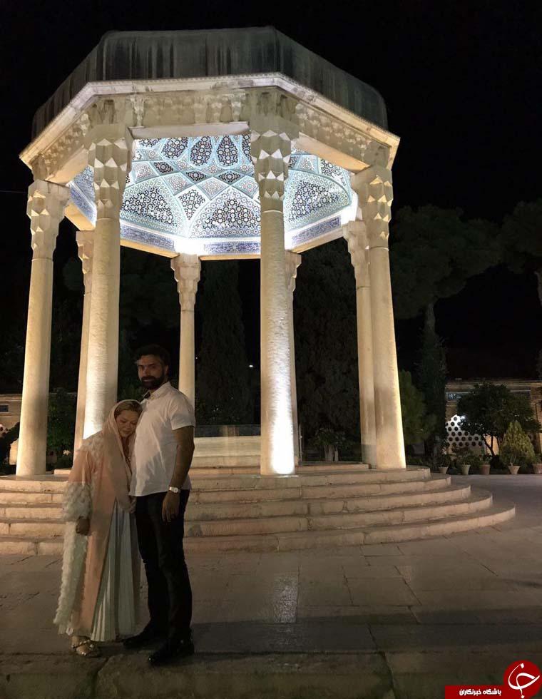حضور رهنما در حافظیه شیراز