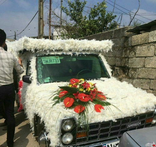 ماشین عروس باری!