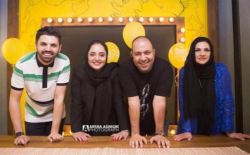 جشن تولد امید معلم با حضور بازیگران مشهور