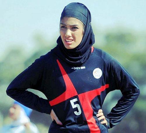 گفتگو با ستاره فوتبال بانوان ایران