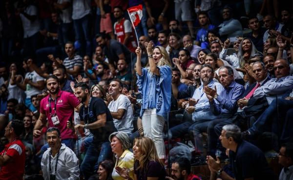 هنجارشکنی لبنانی ها در مسابقات بسکتبال