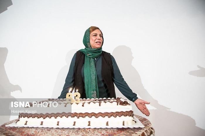 جشن تولد گوهر خیراندیش در موزه هنرهای دینی
