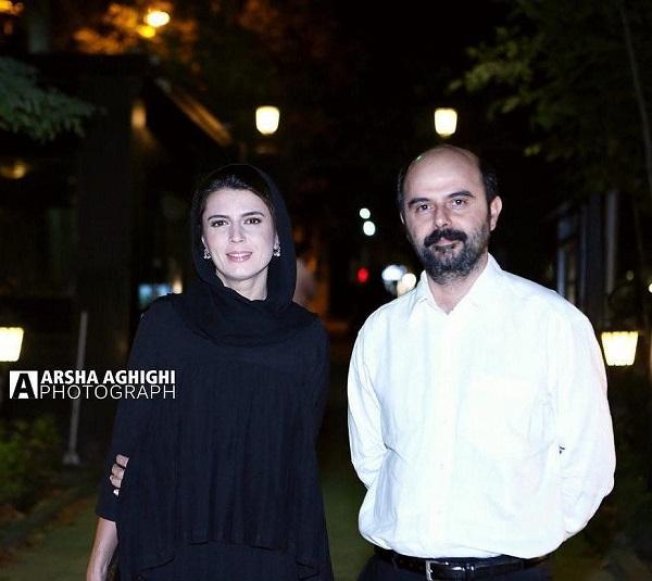 لیلا حاتمی و علی مصفا در اکران فیلم لیلا