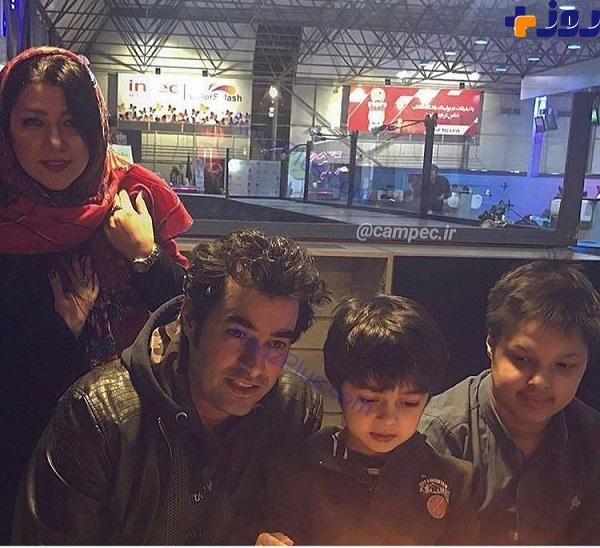 عکس خانوادگی از شهاب حسینی