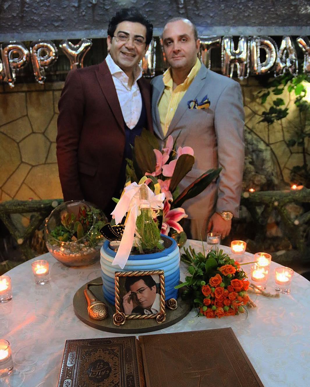 حضور خواننده معروف در جشن تولد فرزاد حسنی