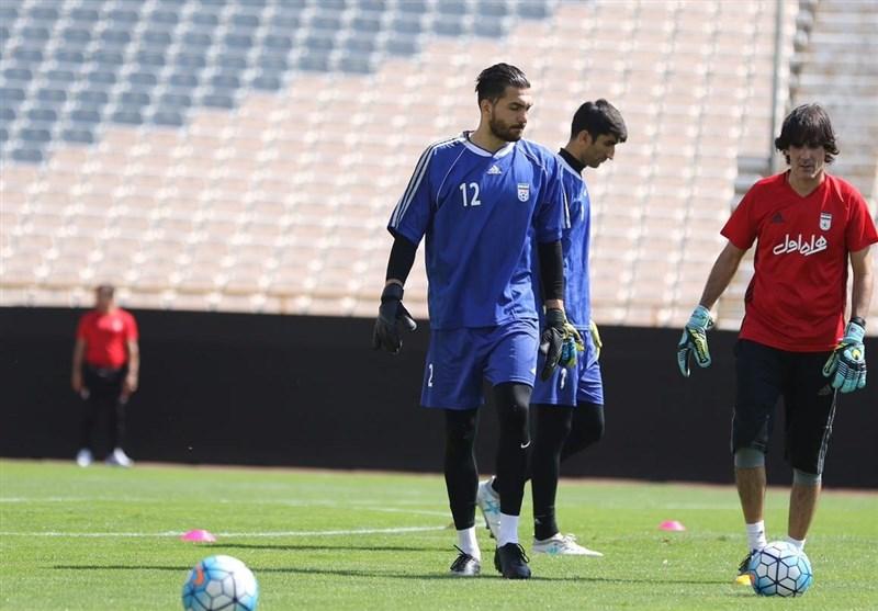 تمرین امروز تیم ملی برای بازی با سوریه