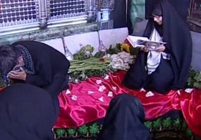 صبر زینبی همسر شهید حججی