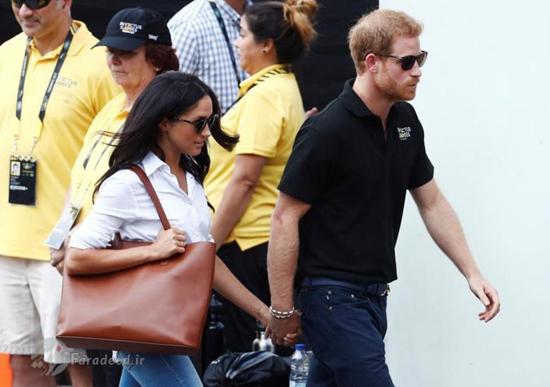 پرنس هری و نامزدش