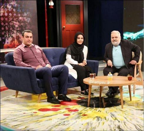 خانواده اکبر عبدی در برنامه تلویزیونی