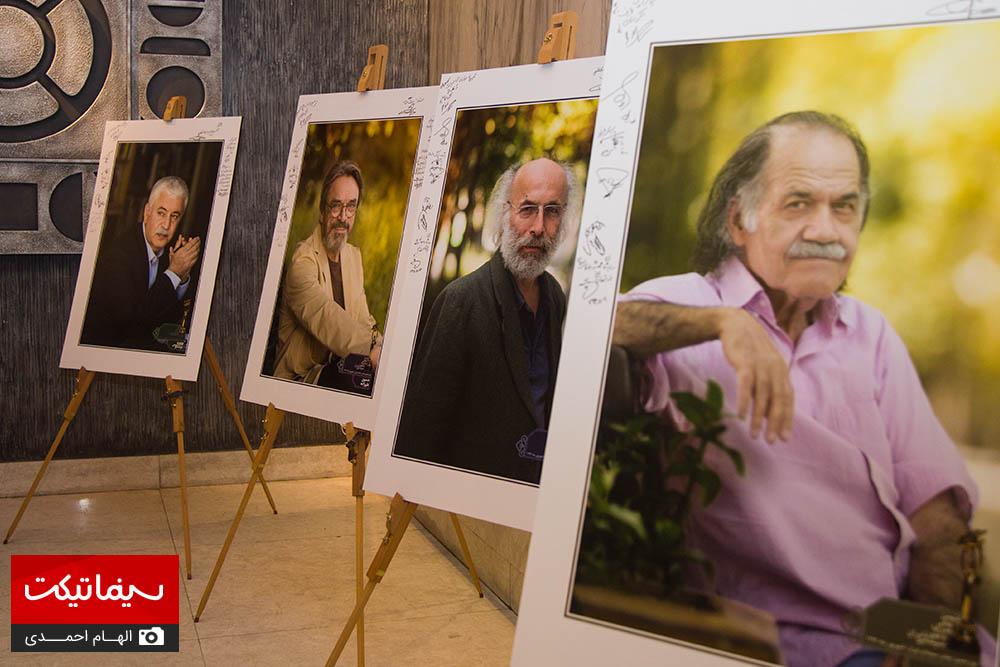 مراسم بزرگداشت هنرمندان در خانه سینما
