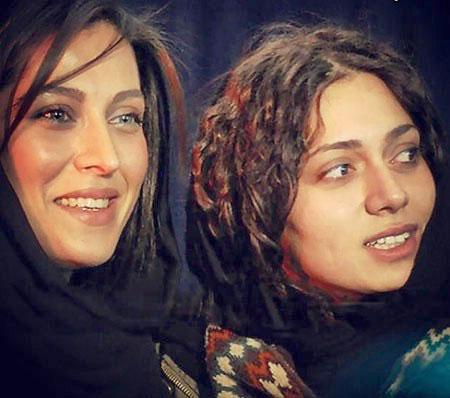 سلفی دونفره هنرمندان زن سینمای ایران