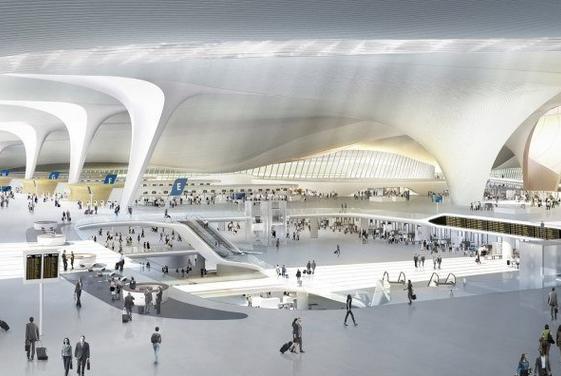 ساخت وسیع ترین فرودگاه دنیا در پکن