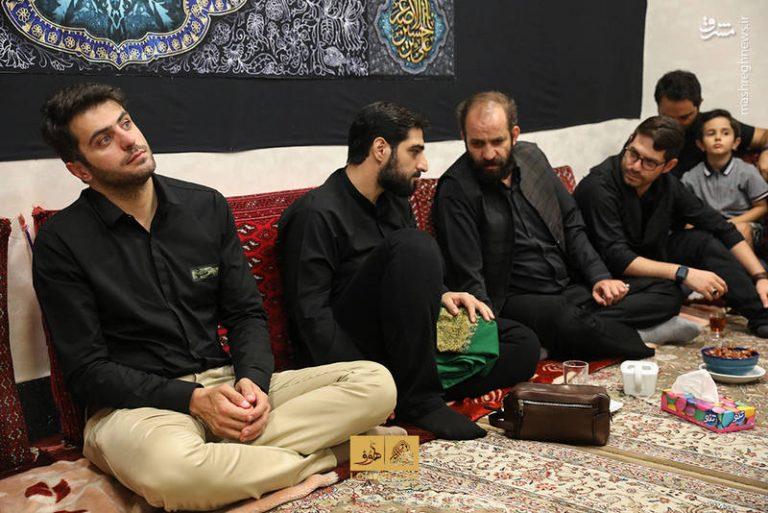 علی ضیا در سوگواری ماه محرم