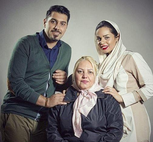 عکس خانوادگی از احسان خواجه امیری
