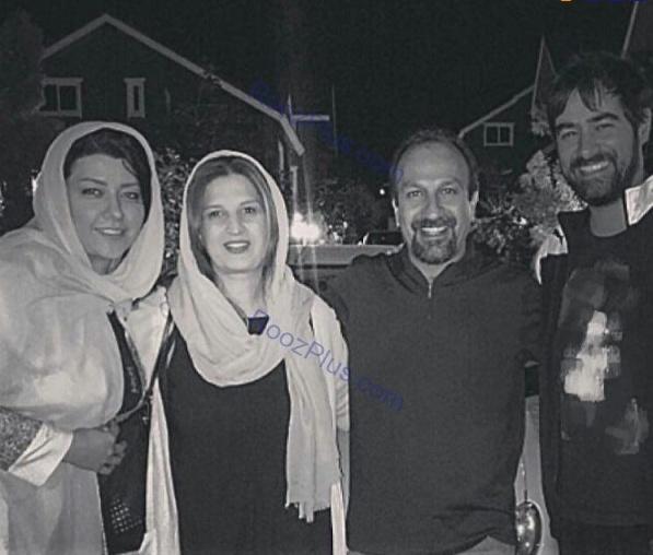 عکس خانوادگی از شهاب حسینی و اصغر فرهادی