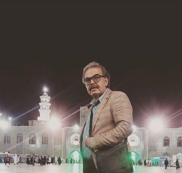 حضور حمید لولایی در مشهد